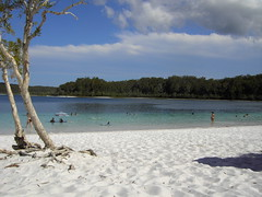 Lake McKenzie and Pure Sand!