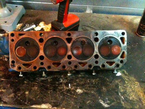 There is some valve seat recession present, next year i'll probably get the head converted to unleaded