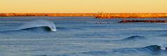 North Coast Village... On Fire (Bryce Bradford) Tags: dawn coast harbor village north sandbar olympus oceanside zuiko patrol 40150mm f3545 ncv e520