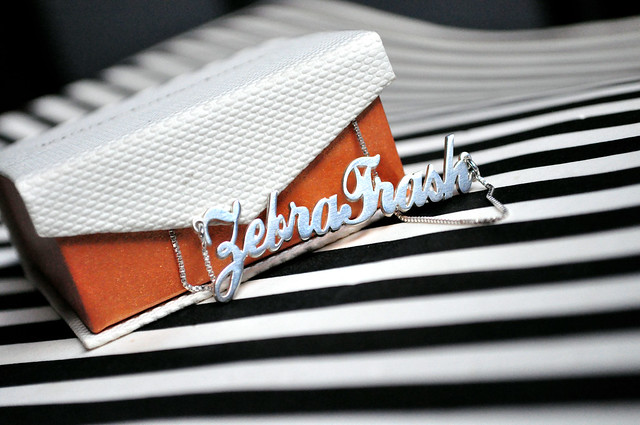 Colar ZebraTrash