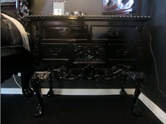 "4185 HIGH GLOSS BLACK BAROQUE NIGHTSTAND • <a style=""font-size:0.8em;"" href=""http://www.flickr.com/photos/43749930@N04/5744368158/"" target=""_blank"">View on Flickr</a>"
