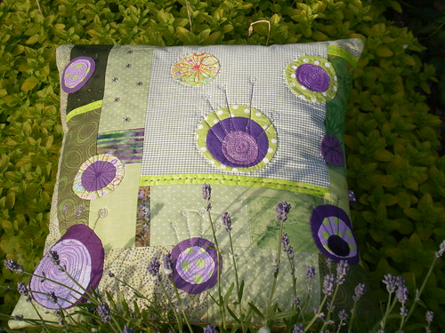Cushion by Textile-tally