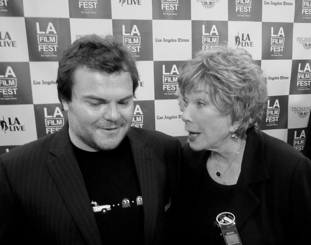 Jack Black, Shirley MacLaine, LA Film Festival Opening Night 2011