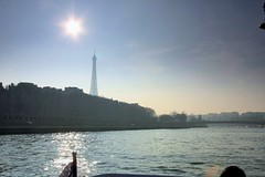 Sun, Water and Eiffel Tower