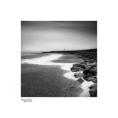 New Brighton Breaker (steveowen528) Tags: fineart landscape merseyside water mono moody liverpool breaker beach wirral rocks sea seascape groyne coast uk newbrighton