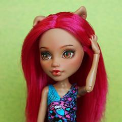 Howleen Wolf ooak (PolinaKalinina) Tags: howleenwolf howleen ooak doll repaint monsterhigh