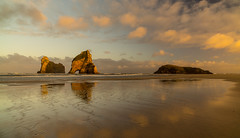 Golden Bay (flokasper) Tags: weitwinkel emount strand sea meer zeisstouit12mm sonynex7 sony sunset sonnenaufgang neuseeland newzealand goldenbay