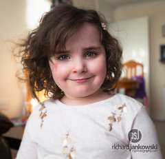 [45.365] Face of an Angel (Rich Jankowski) Tags: 45365 5d mkii brown haired girl canon curly hair ef 2470 mm f28 l usm looking camera photo day 2017 eyes 365 5d2 bethany blur child face portrait smile toddler