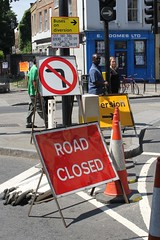 Greenwich - Road Closed
