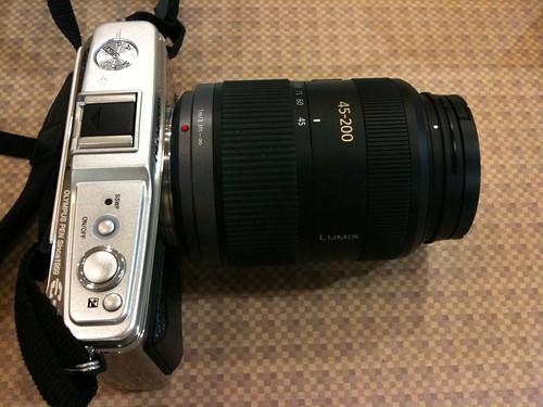 E-P1 + G VARIO 45-200mm