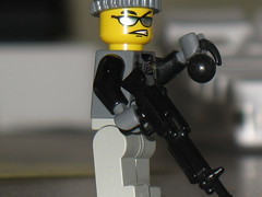 American Machine Gunner (legof