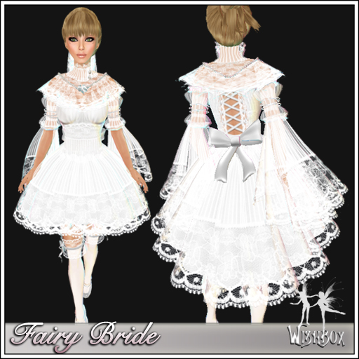 Fairy Bride - Lace and Sleeves