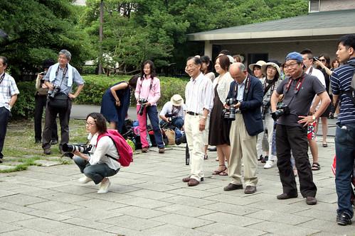 fotografos esperando