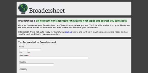 Broadersheet