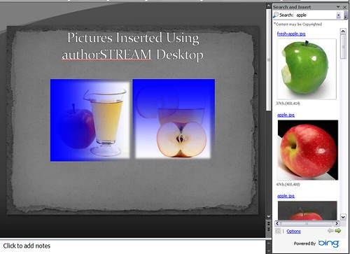 authorSTREAM Desktop Image Search