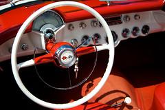 Steering Wheel (dhanlian) Tags: corvette steeringwheel millcreekfestival millcreekstreetfair