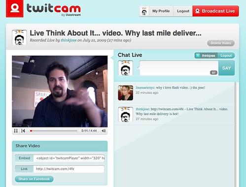 Twitcam test