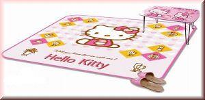 HELLO KITTY CARPET AREA RUG MAT 6 ft 3 BIG 190 X 190CM @ SGD120.00 Excluding Shipping from Oversea