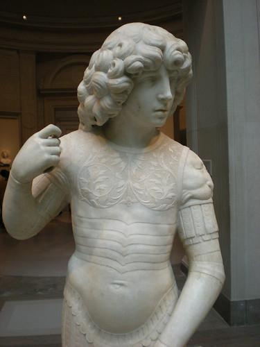 Tullio Lombardo, sculpture of a warrior saint