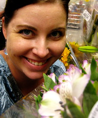 365day9 (Studio Burgundy) Tags: flowers selfportrait grocerystore 365days