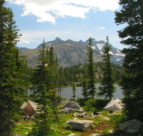 Peggy Lake Camping