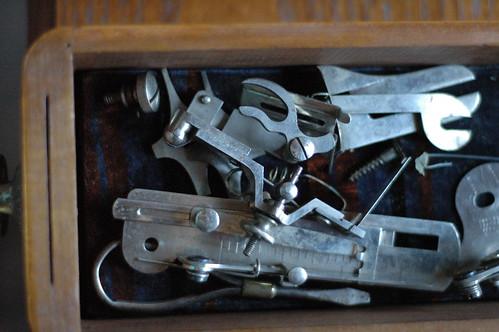 Sewing bits and parts