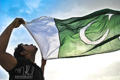 (Minhaj Ahmad) Tags: pakistan green nikon flag pakistani d60 minhaj lovepakistan pakistanindependence karachigreenminhajpakistanindependenceflagnikond60karachi cute14aug