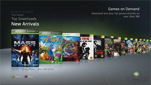 Xbox Games on Demand