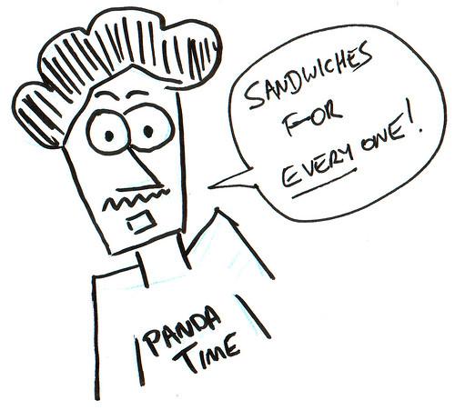 366 Cartoons - 192 - Sandwiches