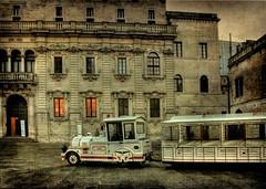 Lecce (Cinzia A. Rizzo / fataetoile) Tags: texture bravo lecce trenino themoulinrouge arcivescovado explore270 fataetoile memoriesbook thesuperbmasterpiece cinziaarizzo