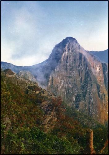 paisaje andino peruano