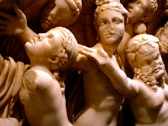 Art on Tomb (Antalya Museum) (cynfei) Tags: lpdamaged