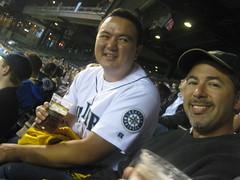 Brandon & DrChako (taopauly) Tags: field safeco seaatle