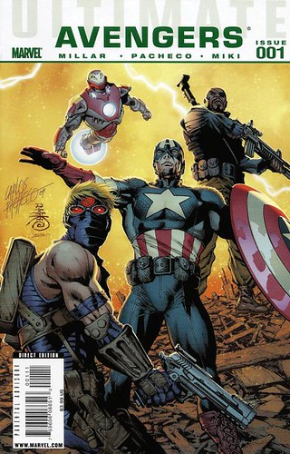 ultimate comics avengers 1