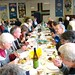 Parishioners at the Patronal Festival lunch