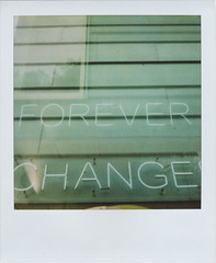 (Lizzie Staley) Tags: green catchycolors polaroid sx70 exposure neon double 600 change forever uwe cmwdgreen