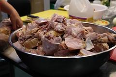 Smoked Turkey and Rowe Farms Chicken