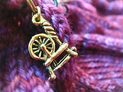 Marker (Dear Knits) Tags: amelia knitty handknits madelinetosh