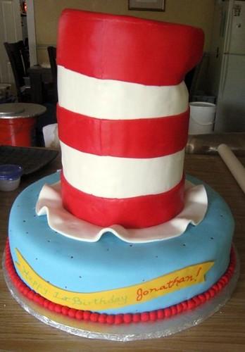 cat in hat cake. Cat In The Hat Cake