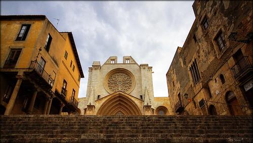 arribant a la catedral