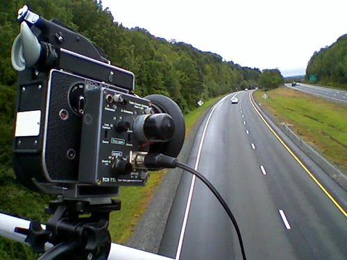 Timelapse over Route 2