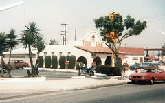 Taco Bell, Katella at Beach Blvd, Stanton, 1984 (Orange County Archives) Tags: california history restaurant historical southerncalifornia orangecounty tacobell stanton orangecountyarchives orangecountyhistory