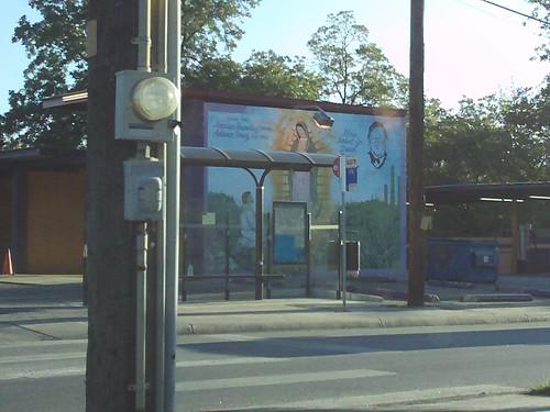 car wash mural