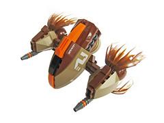 Kagero Fighter (Fredoichi) Tags: lego space shooter starfighter cannonfodder shmup fredoichi