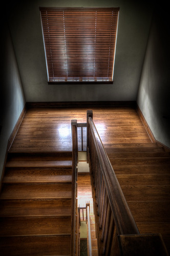 Staircase and Blind, Central Presbyterian Church