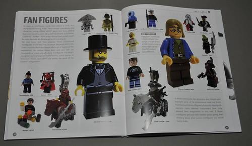 DK Lego minifig book