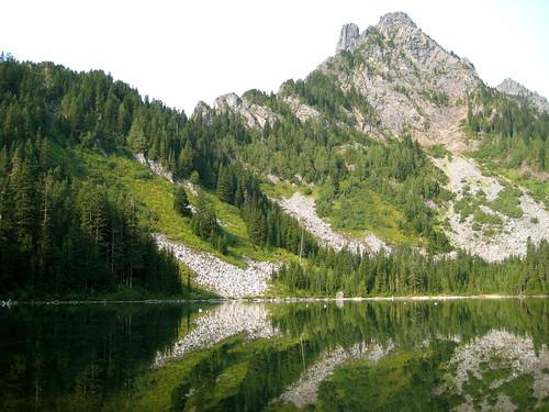 Merchant Peak and Eagle Lake