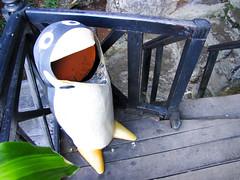 Penguin garbage