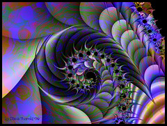 A long and winding Road (Diana Thorold.) Tags: digital psp fractal colourful hypothetical kpt5 eyecandyart awardtree dianathorold