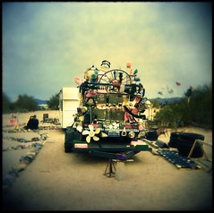 slab city is full of wonderful surprises. (jody9) Tags: holga artcar saltonsea salvationmountain slabcity artlibre